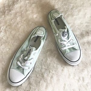 Converse Shoes - Converse Shoreline Low Top Sea Foam Sneakers 8 dea200c3f